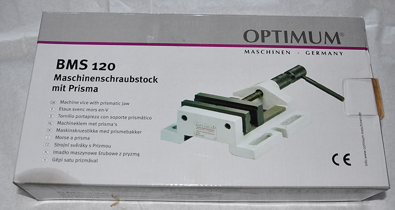 Optimum Schraubstock BMS 120