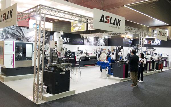 Messestand_Aslak